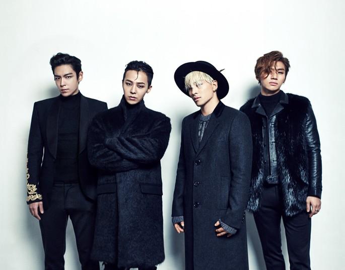 2 - Grupos Kpop - BIGBANG