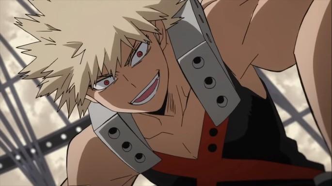 2 Katsuki Bakugou Boku No Hero Academia Personajes