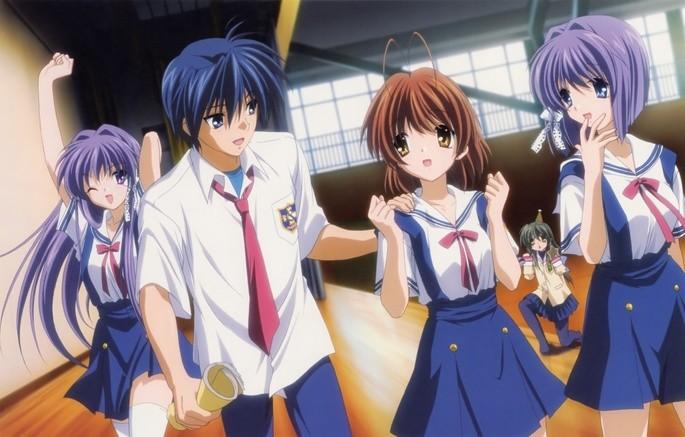2 - Los mejores anime de romance - Clannad