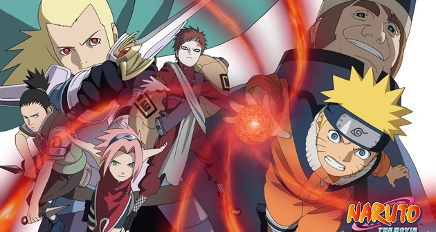 2 - Naruto películas - Naruto la película Las ruinas fantasmas en lo profundo de la tierra