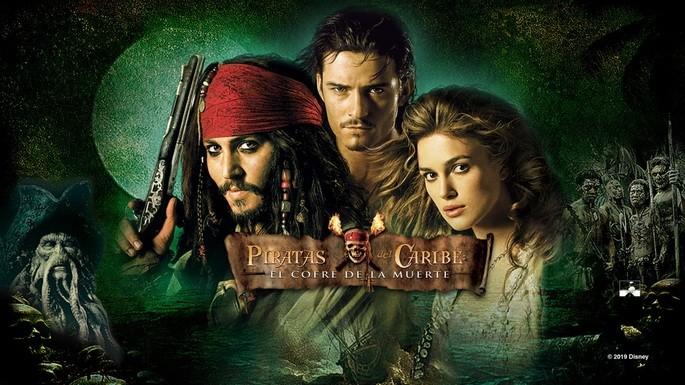 2- Piratas del Caribe El cofre de la muerte