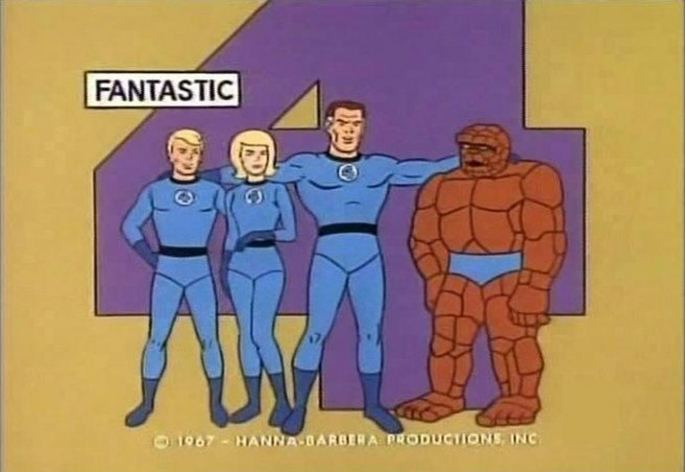 2 - The Fantastic Four 1967