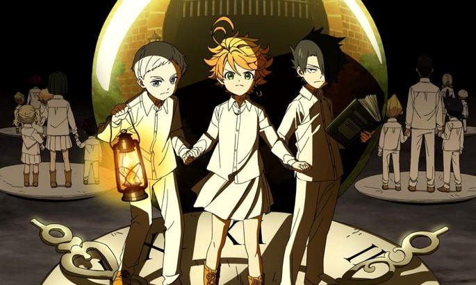 2 Yakusoku No Neverland Mejores Animes Shounen
