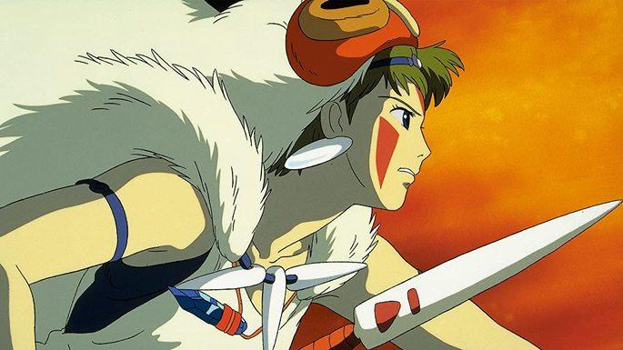 20 - Mejores anime de la historia - Princess Mononoke