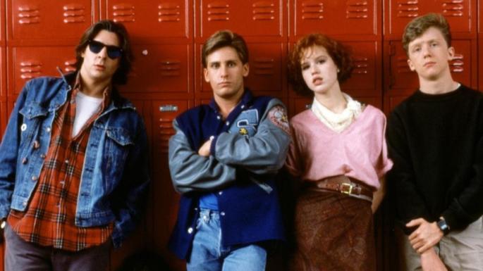 21 - Películas para adolescentes - The Breakfast Club