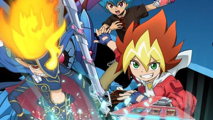 21 Yu-Gi-Oh! Sevens Estrenos Anime Abril