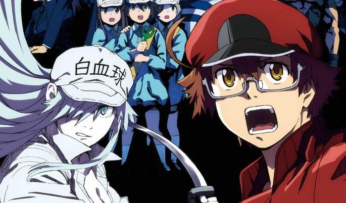 22 Anime estrenos invierno - Hataraku Saibou Black