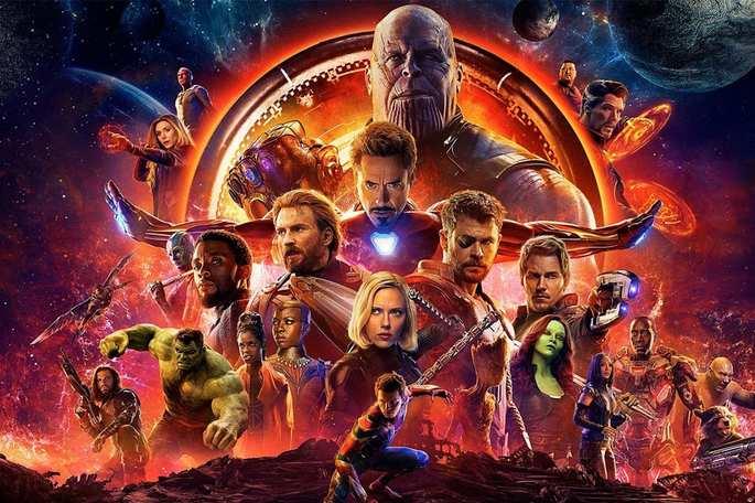 22 - Orden cronológico películas de Marvel - Avengers Infinity War