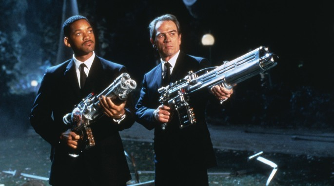 23 - Peliculas de extraterrestres - Men in Black