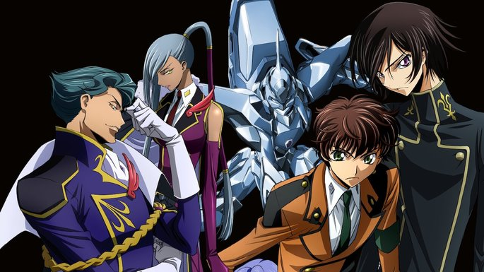 24 Animes de accion - Code Geass Lelouch of the Rebellion