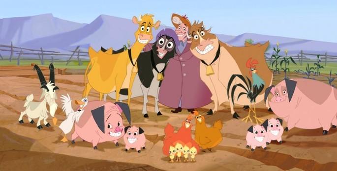 24 Mejores Peliculas Disney - Vacas Vaqueras