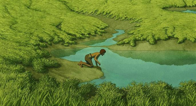 24 Peliculas animadas - The Red Turtle
