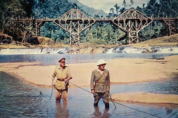24 The bridge on the River Kwai Peliculas Guerra