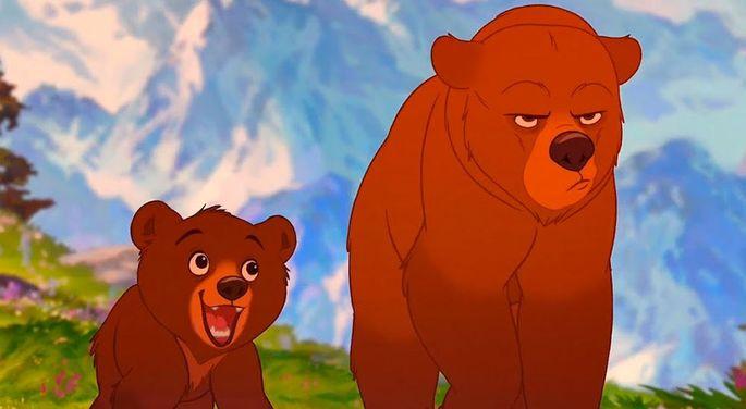 25 Mejores Peliculas Disney - Tierra de osos