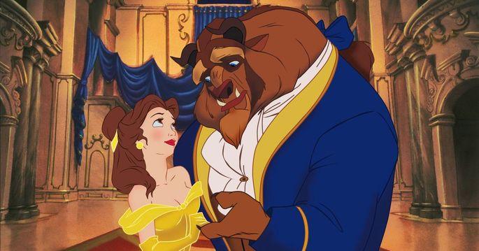 25 - Películas románticas - Beauty and the Beast