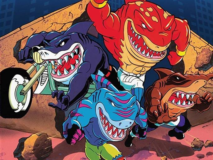 25 - Series de los 90 - Street Sharks, los tiburones de la calle