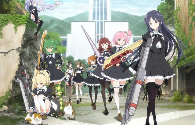 27 Estrenos anime otoño - Assault Lily Bouquet