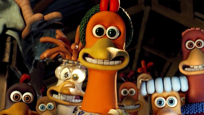 27 Peliculas animadas - Chicken Run
