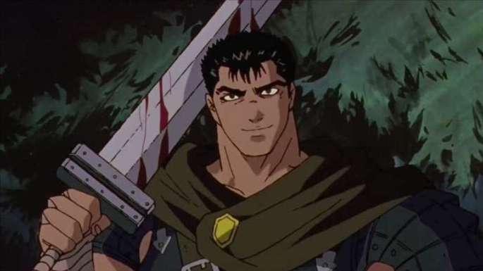 28 Animes de accion - Berserk