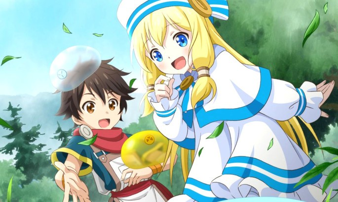 28 Estrenos anime otoño - Kami-tachi ni Hirowareta Otoko