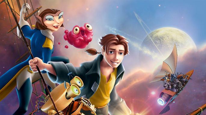 28 Mejores Peliculas Disney - El planeta del tesoro