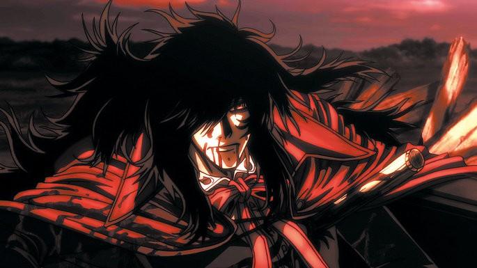 29 Animes de accion - Hellsing