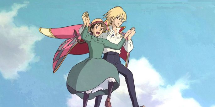 29 Peliculas animadas - Howl's Moving Castle