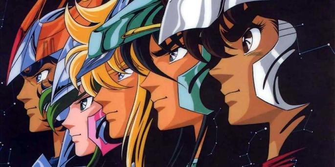 3 Caballeros del zodiaco - Animes accion