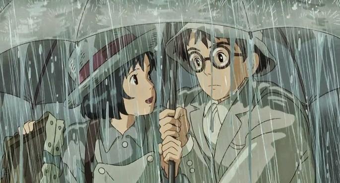 3 - Las mejores películas de anime - El viento se levanta