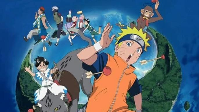 3 - Naruto películas - Naruto la película ¡Pánico animal en la Isla de la Luna Creciente!