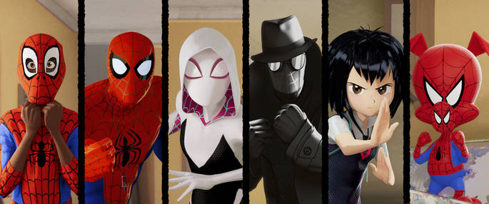 3 Peliculas animadas - Spider-Man Into the Spider-Verse