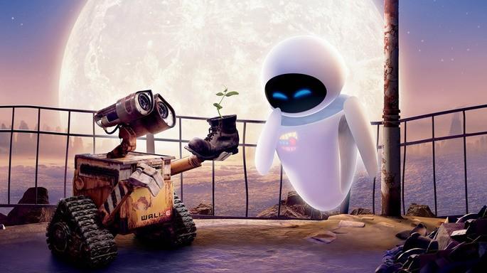 3 - Películas de Pixar - WALL·E