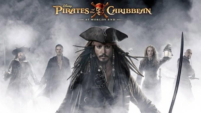 3- Piratas del Caribe En el fin del mundo