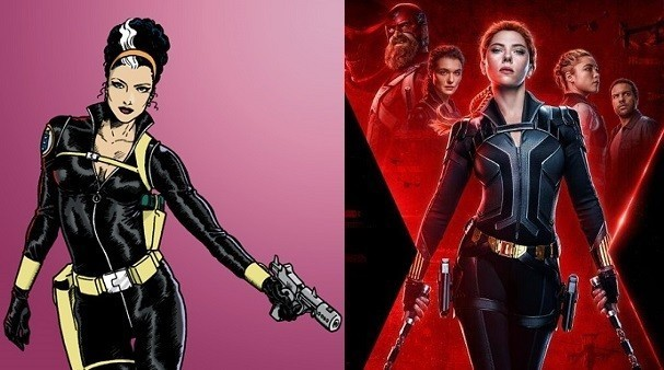 3- Su posible presentación en Black Widow