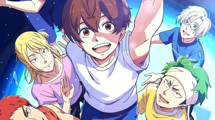 30 - Anime temporada primavera - Bakuten!!