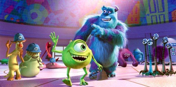 30 Mejores Peliculas Disney - Monsters, Inc