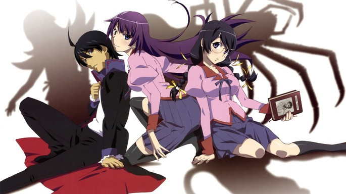 31 - Mejores anime de la historia - Monogatari