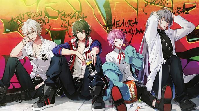 32 Estrenos anime otoño - Hypnosis Mic Division Rap Battle - Rhyme Anima