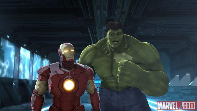 32 - Marvel's Iron Man & Hulk Heroes United
