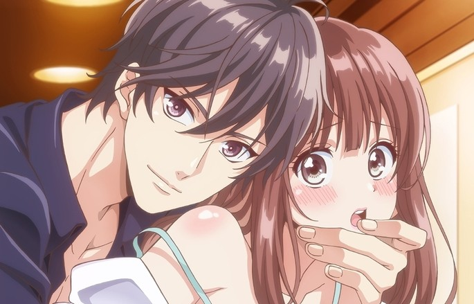 32 One no Yubi de Midarero Heitengo Futarikiri no Salon de Estrenos Anime Abril