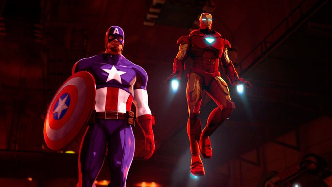 33 - Iron Man and Captain America Heroes United