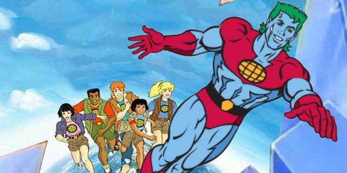 33 - Series de los 90 - Capitán Planeta y los planetarios