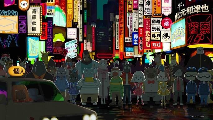 34 - Anime temporada primavera - Odd Taxi