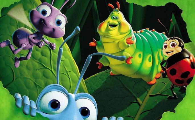 35 Mejores Peliculas Disney - Bichos Una aventura en miniatura