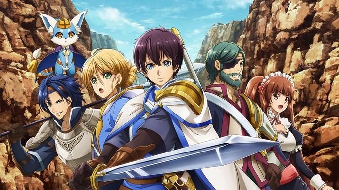 36 Anime estrenos invierno - Hortensia Saga