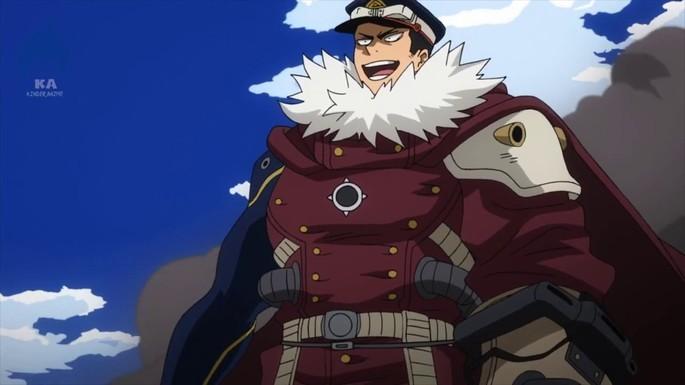 36 Inasa Yoarashi Boku No Hero Academia Personajes