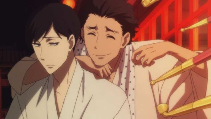 36 - Mejores anime de la historia - Shouwa Genroku Rakugo Shinjuu