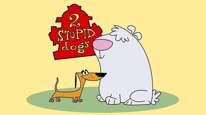 36 - Series de los 90 - Dos perros tontos