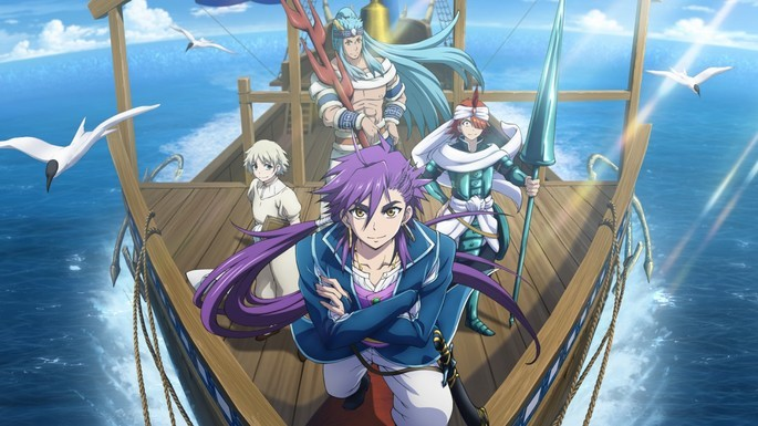 37 Magi The Adventures of Sinbad Anime Netflix