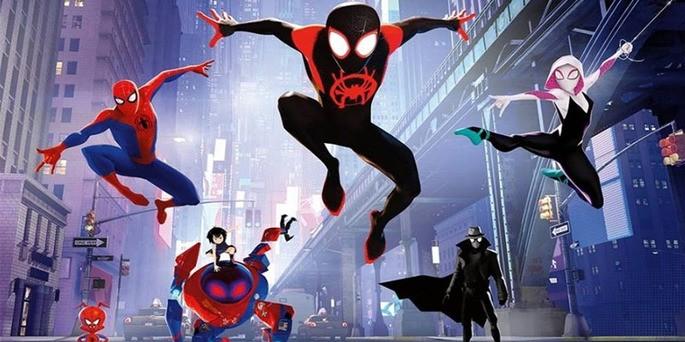37 Spiderman into the spiderverse Peliculas Ciencia Ficción